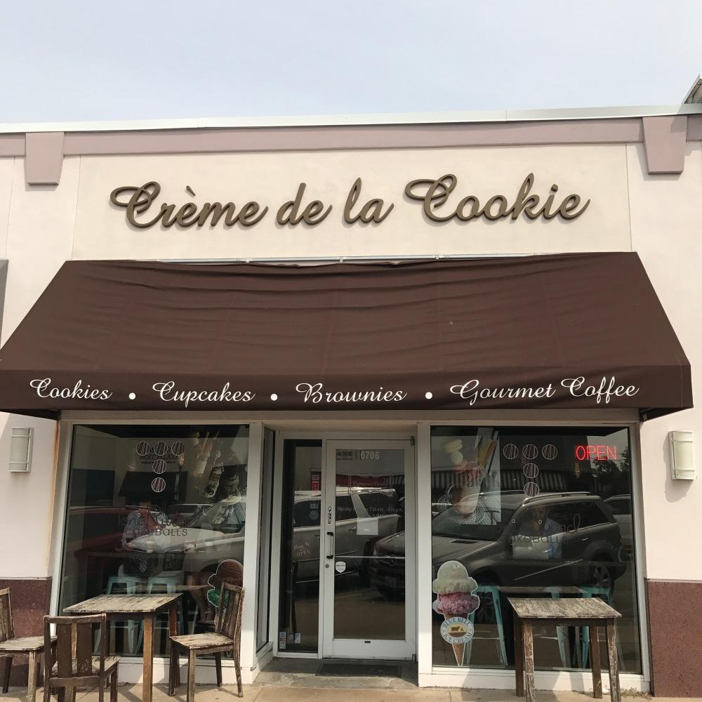 Crème de la Cookie Storefront