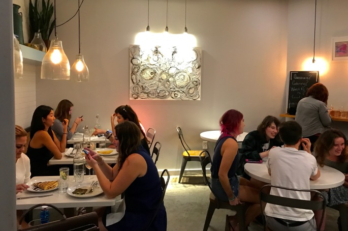 Crowded Whisk Crepe Cafe