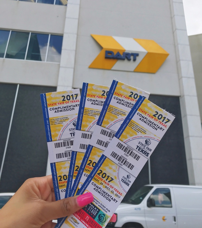 DART State Fair Tickets