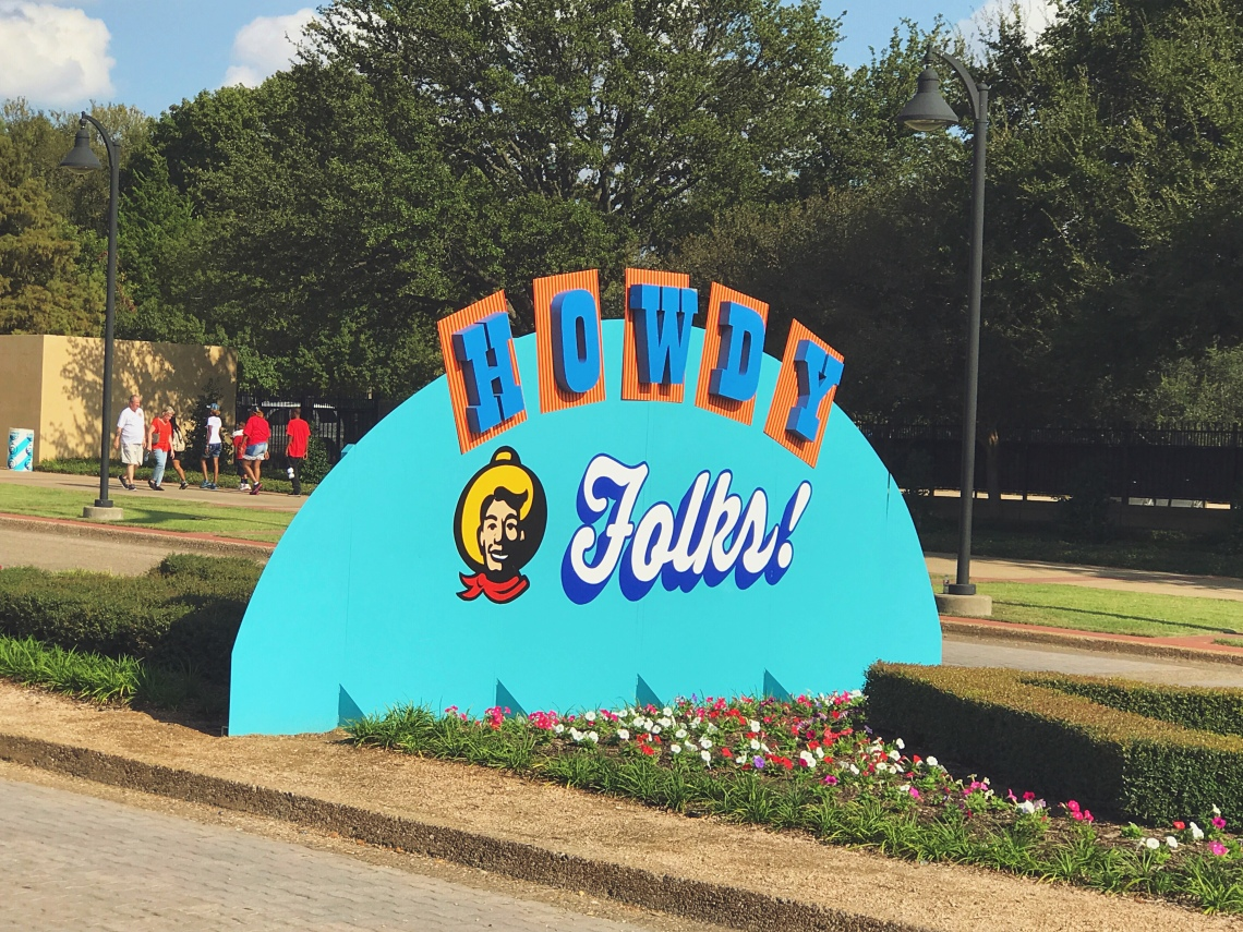 State Fair of Texas Sign