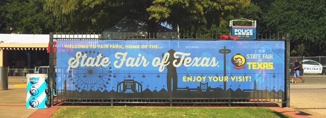 State Fair of Texas Banner