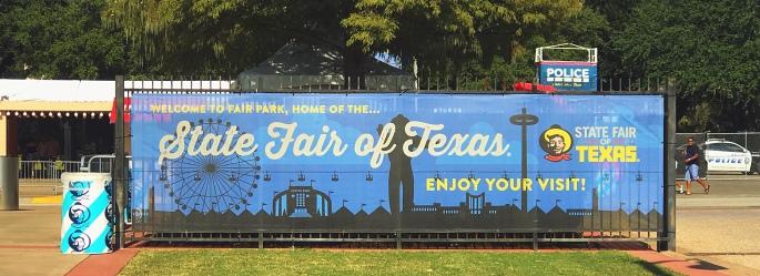 State Fair of Texas Banner