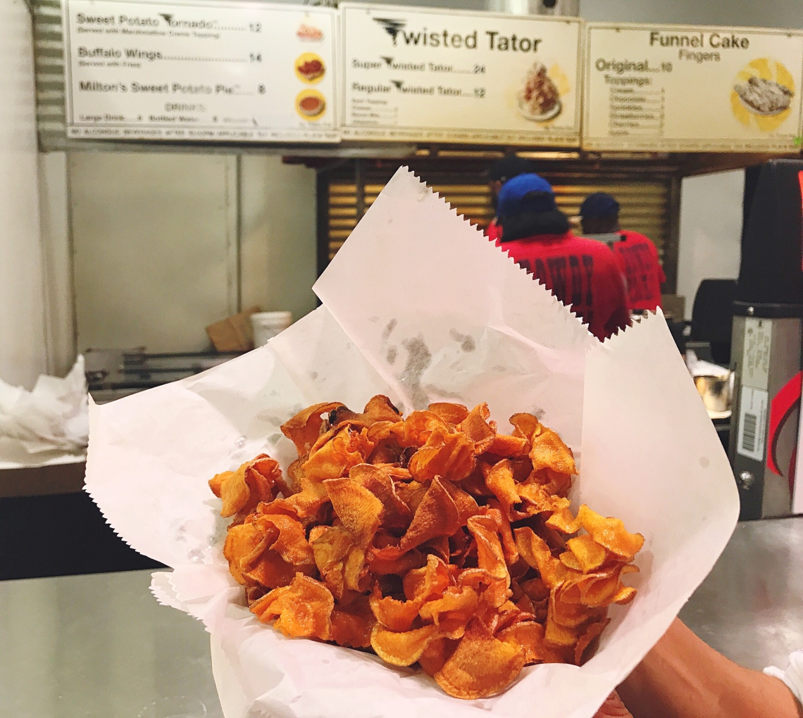 State Fair of Texas Sweet Potato Tornado Fries