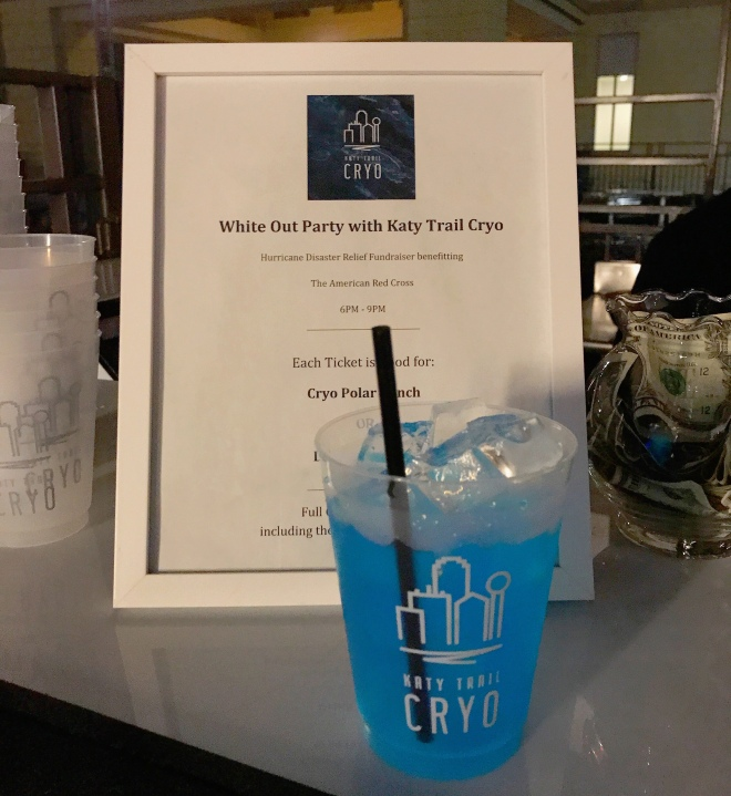 Katy Trail Cryo Polar Punch
