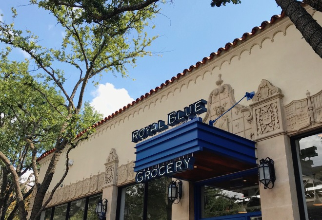 Royal Blue Grocery Storefront 1