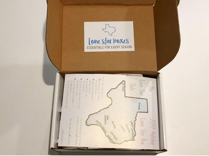 Opened My Lone Star Box.JPG