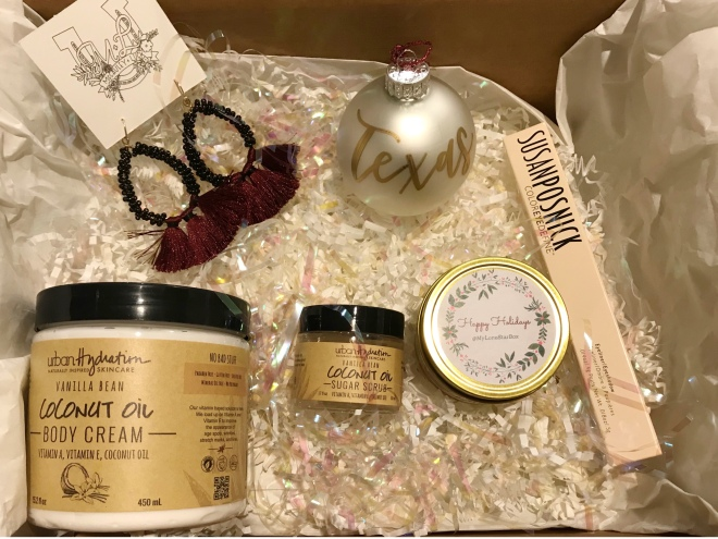 Products Inside My Lone Star Box