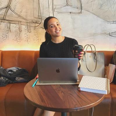 Madisen Reid at Starbucks Reserve