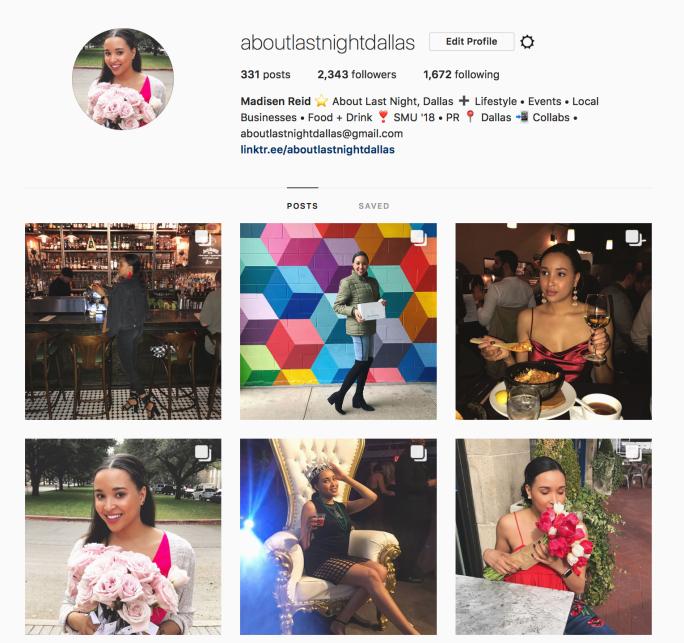 Madisen's Instagram Feed
