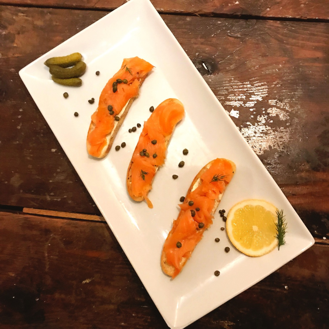 Smoked Salmon & Herb Cream Cheese Bruschetta.JPG