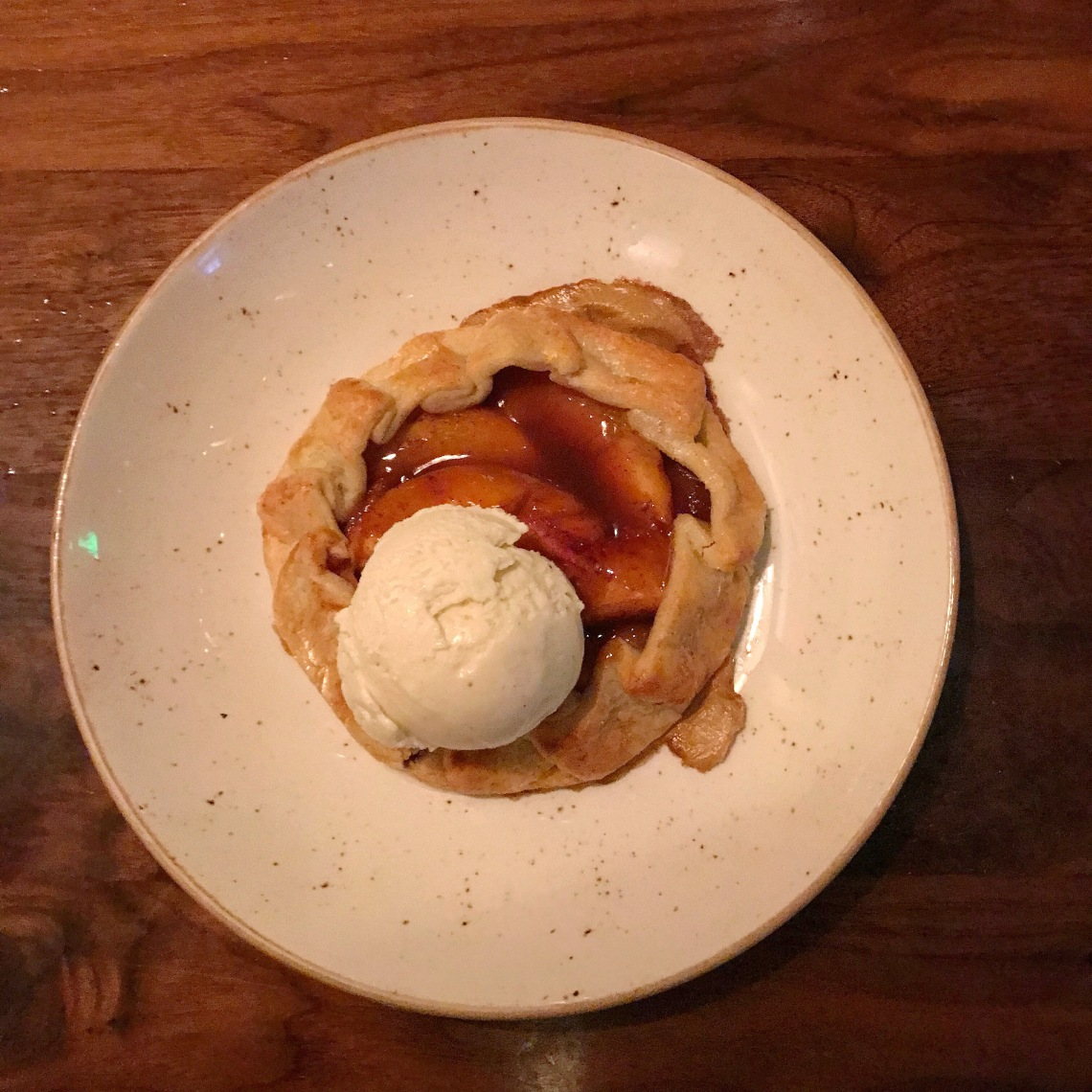 Peach Raspberry Hand Pie - Lazy Dog.JPG