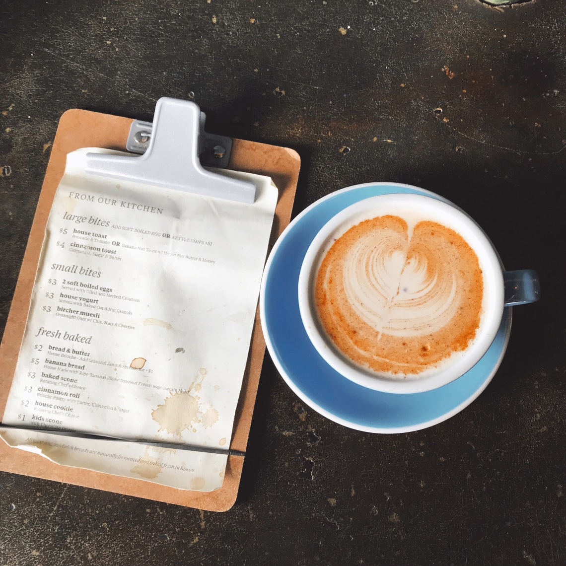 Davis Street Espresso - Chai Tea.JPG