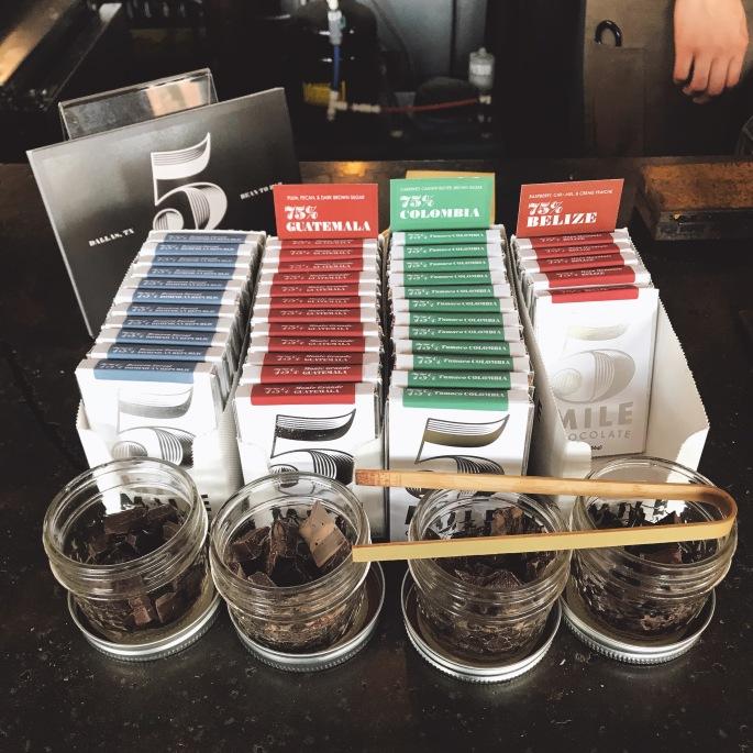 Davis Street Espresso - Chocolates.JPG