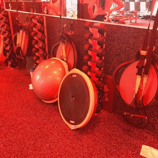 Orangetheory Fitness Victory Park Equipment.JPG
