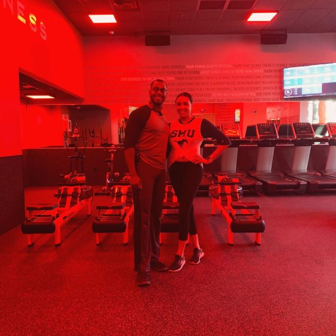 Orangetheory Fitness Victory Park Madisen and Trainer Rico.JPG