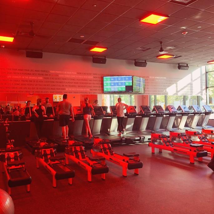Orangetheory Fitness Victory Park Row Machines and Treadmills.JPG